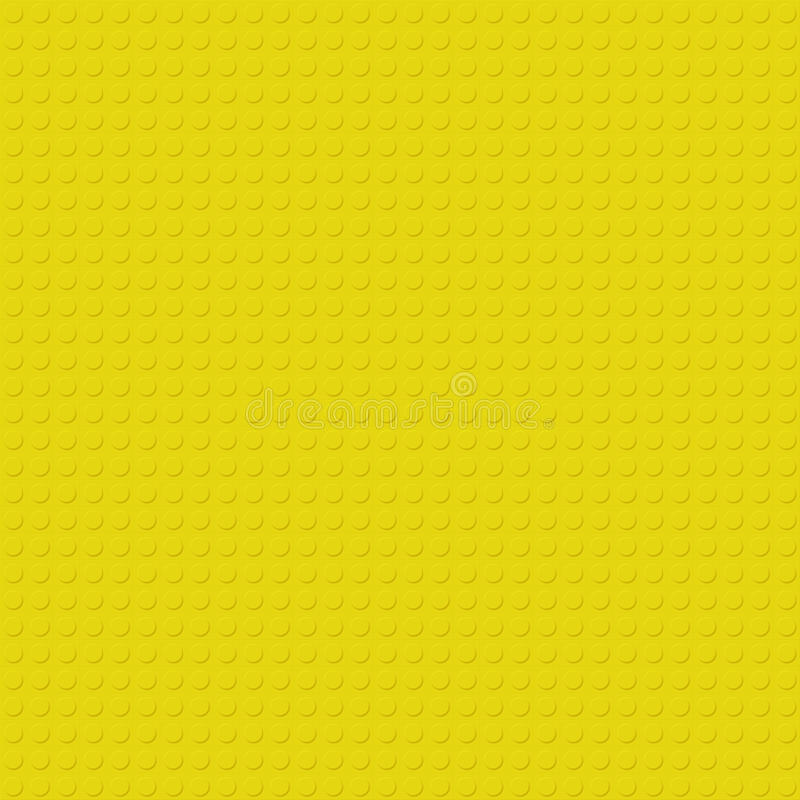 Κίτρινη σύσταση Lego απεικόνιση αποθεμάτων