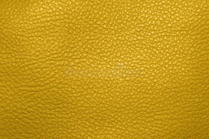 Κίτρινη φυσική pigskin σύσταση στοκ εικόνα με δικαίωμα ελεύθερης χρήσης