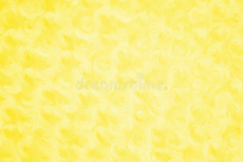 Κίτρινος αυξήθηκε υπόβαθρο υφάσματος βελούδου στοκ εικόνα