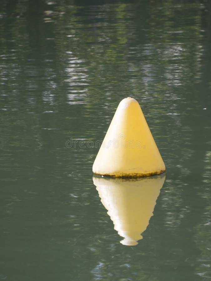 Κίτρινος σημαντήρας στοκ φωτογραφίες με δικαίωμα ελεύθερης χρήσης