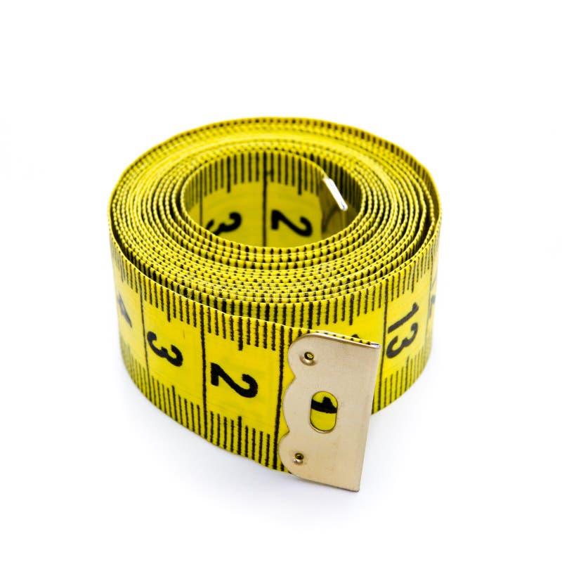 Κίτρινο εκατοστόμετρο στοκ εικόνα με δικαίωμα ελεύθερης χρήσης