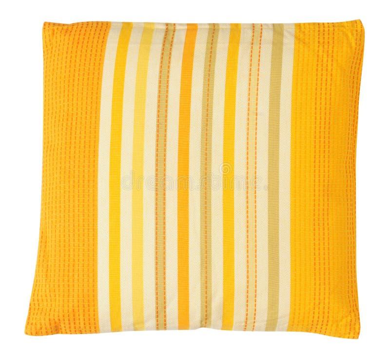 Κίτρινο μαξιλάρι. Απομονωμένος στοκ φωτογραφία με δικαίωμα ελεύθερης χρήσης