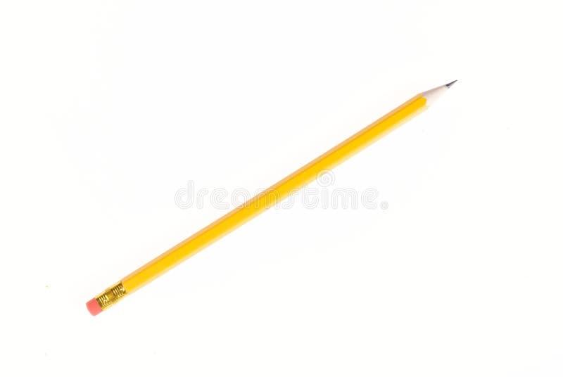 Κίτρινο μολύβι μολύβδου στοκ εικόνες με δικαίωμα ελεύθερης χρήσης