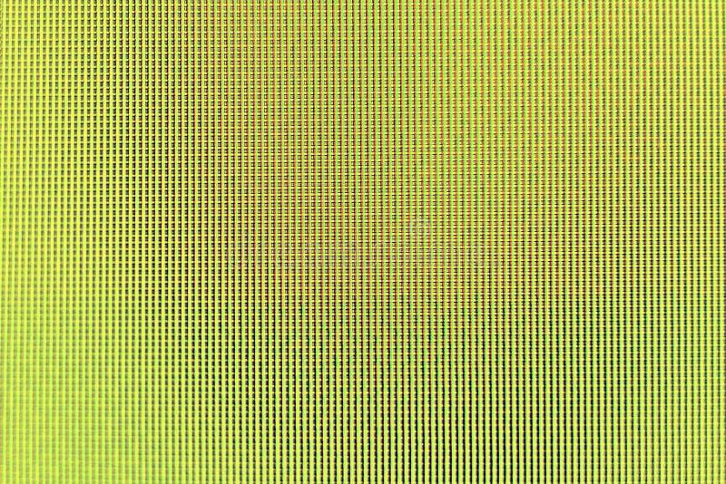 Κίτρινο οδηγημένο όργανο ελέγχου υπόβαθρο σύστασης οθόνης στοκ φωτογραφίες με δικαίωμα ελεύθερης χρήσης