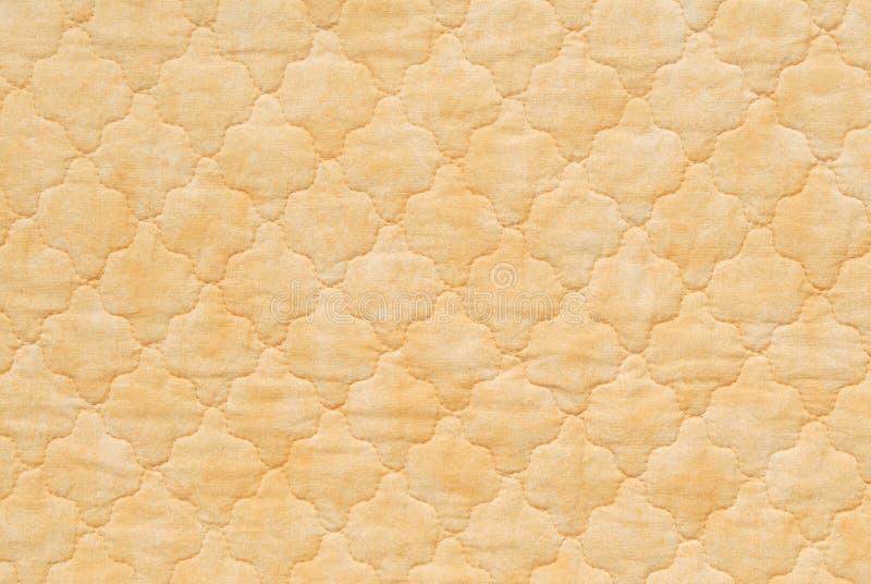 Κίτρινο πάπλωμα στοκ εικόνες