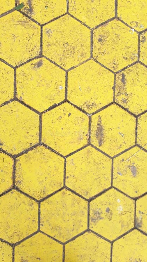 Κίτρινο πάτωμα στοκ εικόνες