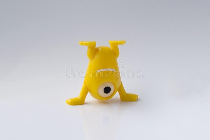 Κίτρινο παιχνίδι στοκ φωτογραφία με δικαίωμα ελεύθερης χρήσης