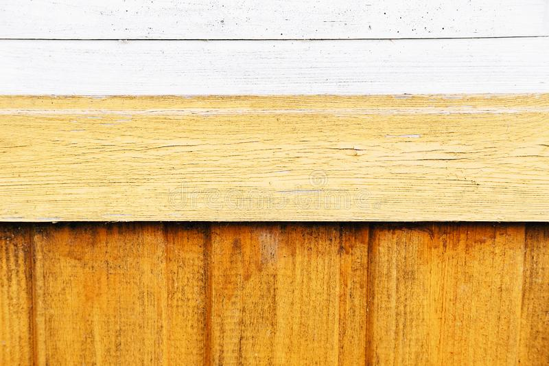 Κίτρινο παλαιό ξύλινο υπόβαθρο σύστασης στοκ εικόνες με δικαίωμα ελεύθερης χρήσης