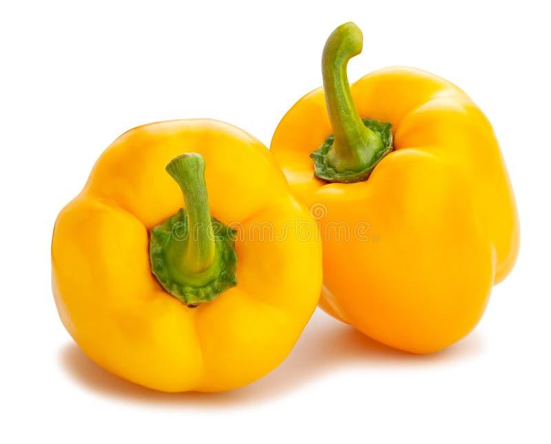 Κίτρινο πιπέρι κουδουνιών στοκ εικόνες με δικαίωμα ελεύθερης χρήσης
