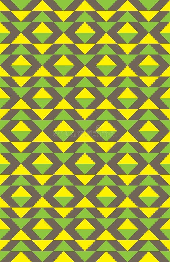 Κίτρινο πρότυπο στοκ εικόνες