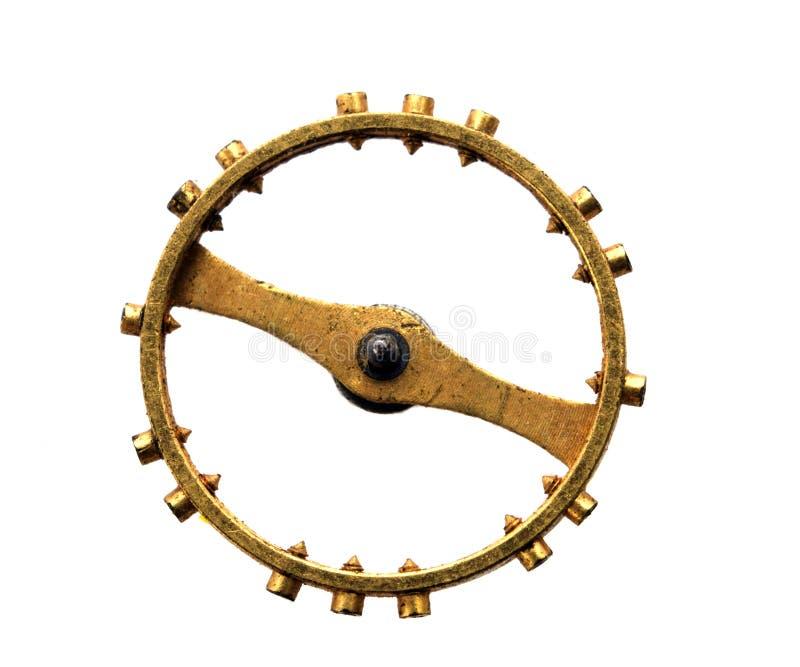 Κίτρινο σκουριασμένο εργαλείο μετάλλων στοκ εικόνα με δικαίωμα ελεύθερης χρήσης