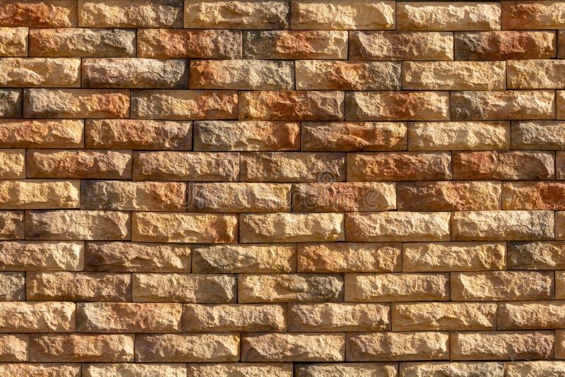 Κίτρινο τραχύ brick_02 στοκ εικόνα με δικαίωμα ελεύθερης χρήσης