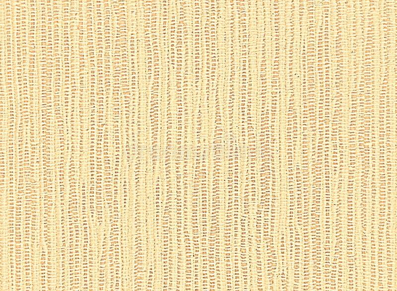 Κίτρινο υπόβαθρο της χονδροειδούς ύφανσης πετσετών λινού στοκ φωτογραφία