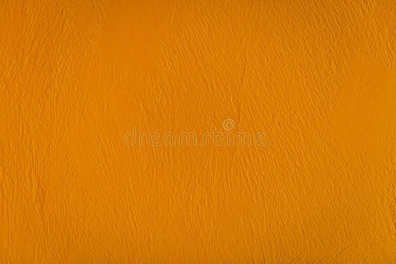Κίτρινο υπόβαθρο τσιμέντου στοκ εικόνα