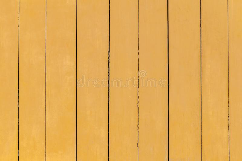 Κίτρινο χρωματισμένο παλαιό ξύλινο υπόβαθρο Χρυσό ξύλινο υπόβαθρο σύστασης στοκ φωτογραφία με δικαίωμα ελεύθερης χρήσης