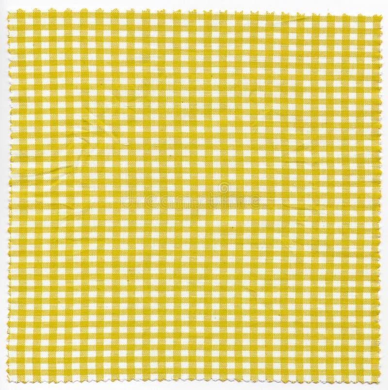 Download Κίτρινο ύφασμα στοκ εικόνες. εικόνα από έλεγχοι, ιστός - 62700248