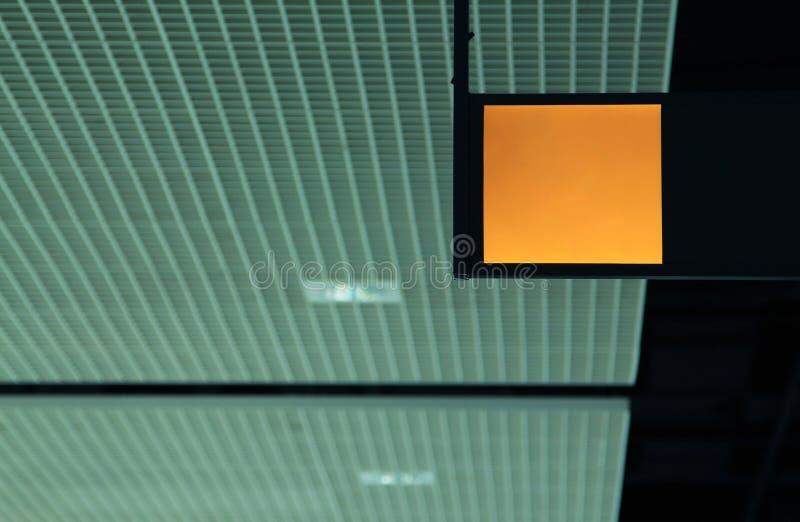 Κίτρινο lightbox στοκ φωτογραφίες