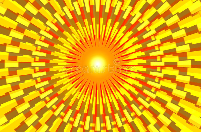 καίγοντας ήλιος mandala ελεύθερη απεικόνιση δικαιώματος