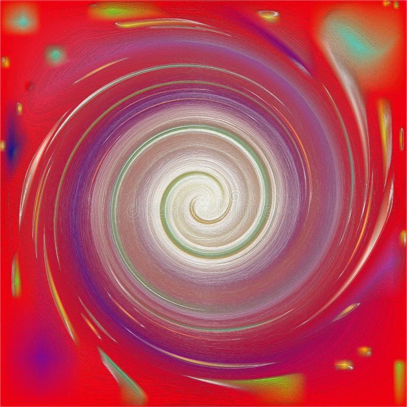 Καίγοντας περίληψη whirlwind backround απεικόνιση αποθεμάτων