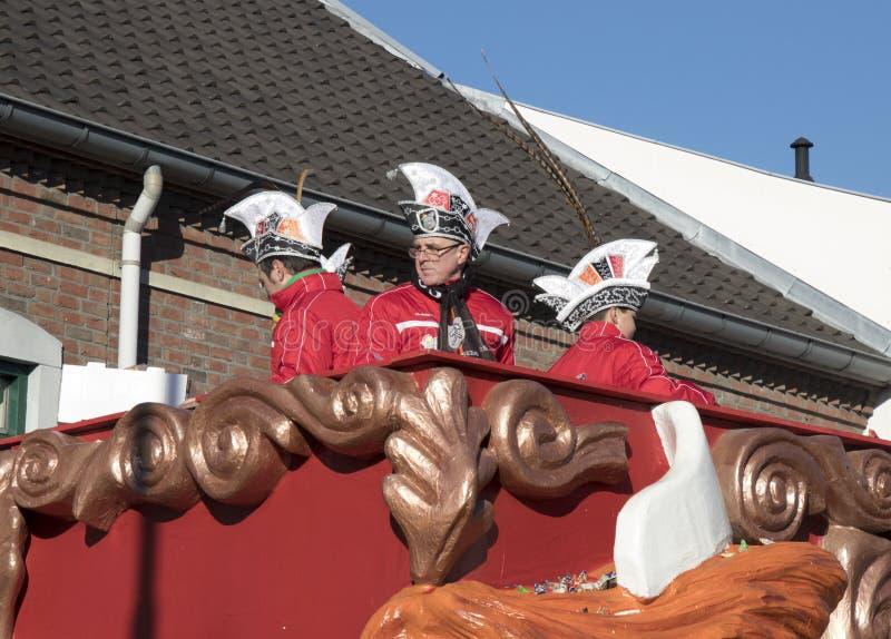 Καβαλλαρία σε Schaesberg, Κάτω Χώρες στοκ φωτογραφίες