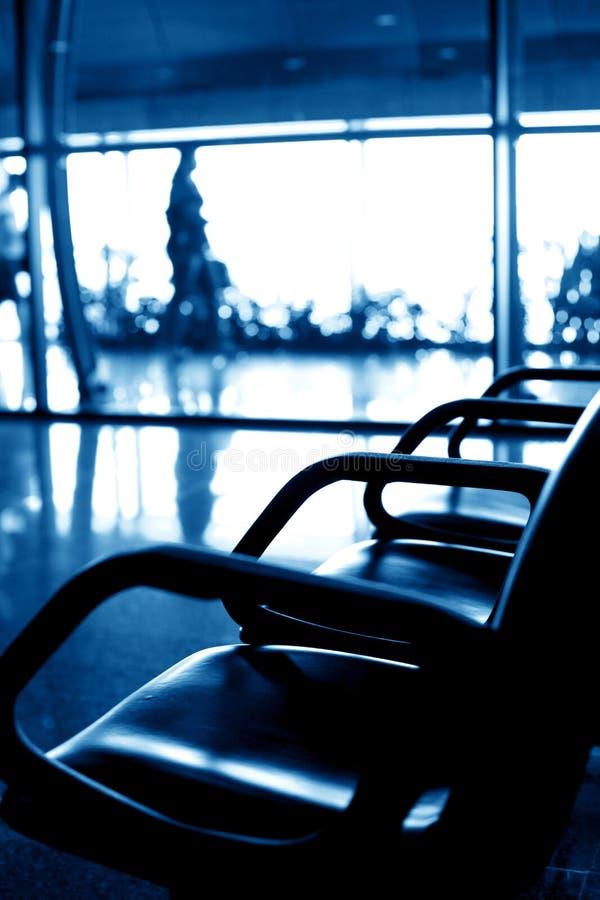 καθίσματα αερολιμένων στοκ εικόνα