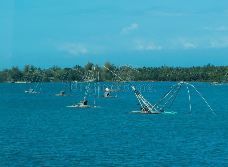 Καθαρά αλιευτικά σκάφη στοκ φωτογραφία