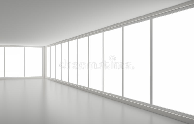 καθαρά εσωτερικά νέα Windows γω&nu διανυσματική απεικόνιση