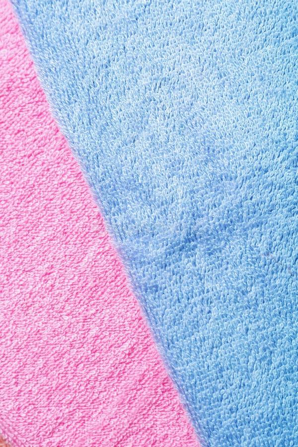 Καθαρές μαλακές πετσέτες χρώματος στοκ εικόνα με δικαίωμα ελεύθερης χρήσης