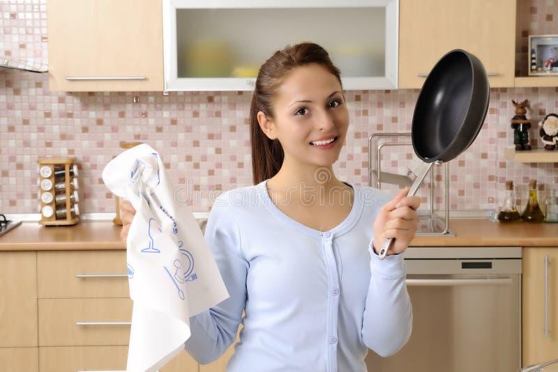 καθαρίζοντας γυναίκες &si στοκ φωτογραφία με δικαίωμα ελεύθερης χρήσης