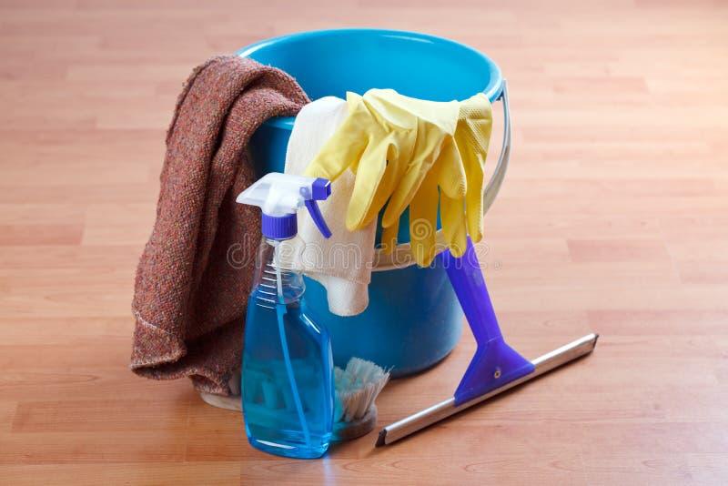 καθαρίζοντας προϊόντα στοκ εικόνες με δικαίωμα ελεύθερης χρήσης