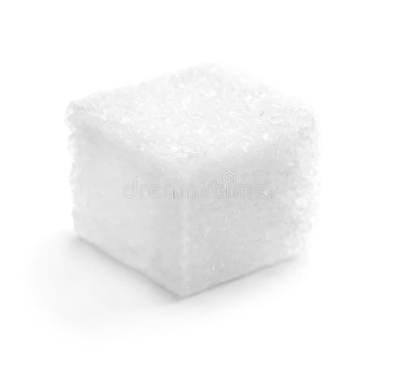 Καθαρισμένος κύβος ζάχαρης στοκ εικόνες