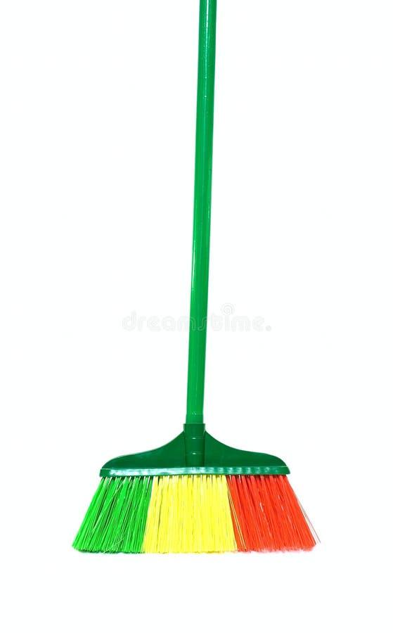 καθαρισμός σκουπών στοκ εικόνα με δικαίωμα ελεύθερης χρήσης