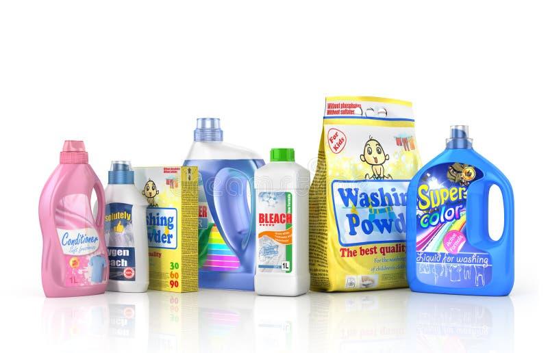 καθαριστικό πλαστικό μπο& ελεύθερη απεικόνιση δικαιώματος