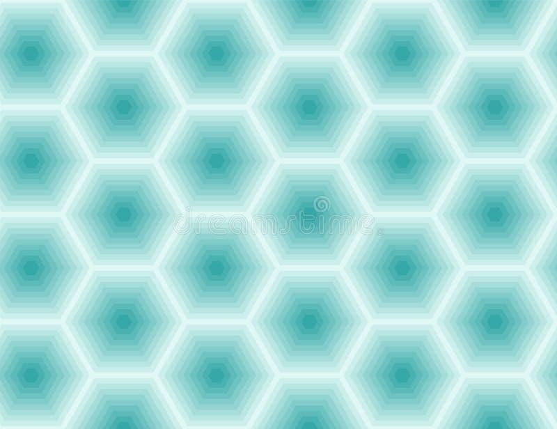 Καθαρός, ηρεμία που επαναλαμβάνει τη σύσταση με τα τακτοποιημένα κύτταρα Άνευ ραφής geometri ελεύθερη απεικόνιση δικαιώματος
