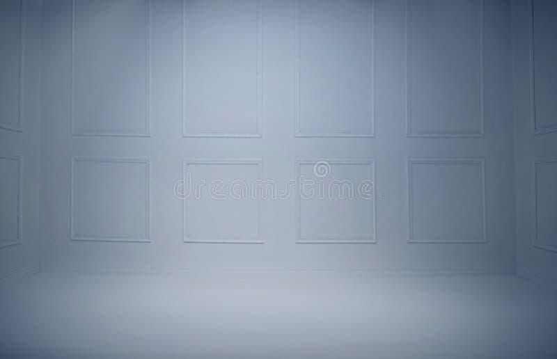 Καθαρό και κενό υπόβαθρο δωματίων στοκ εικόνα