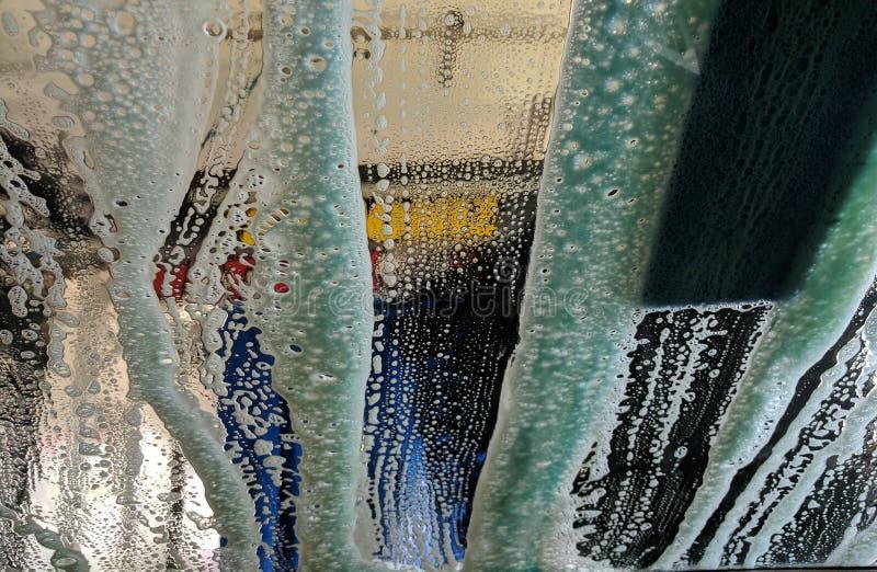 καθαρό πλύσιμο σφουγγαριών μηχανών μανικών αυτοκινήτων στοκ εικόνες με δικαίωμα ελεύθερης χρήσης