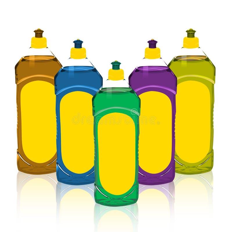 καθαρό πλύσιμο των πιάτων ελεύθερη απεικόνιση δικαιώματος