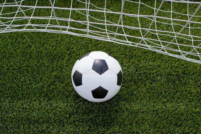 καθαρό ποδόσφαιρο σφαιρών στοκ εικόνα με δικαίωμα ελεύθερης χρήσης