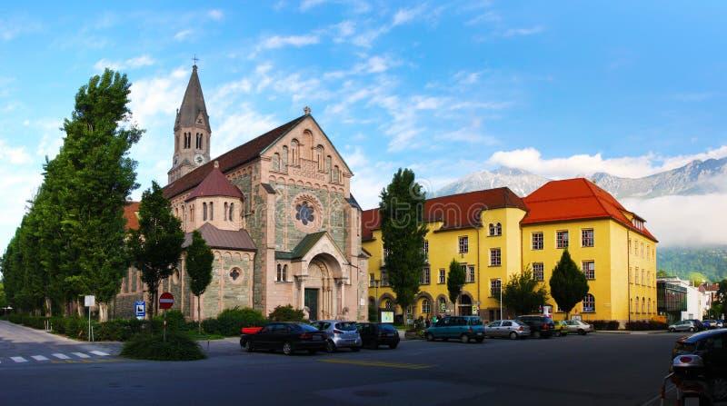 καθεδρικός ναός Ίνσμπρου& στοκ εικόνα