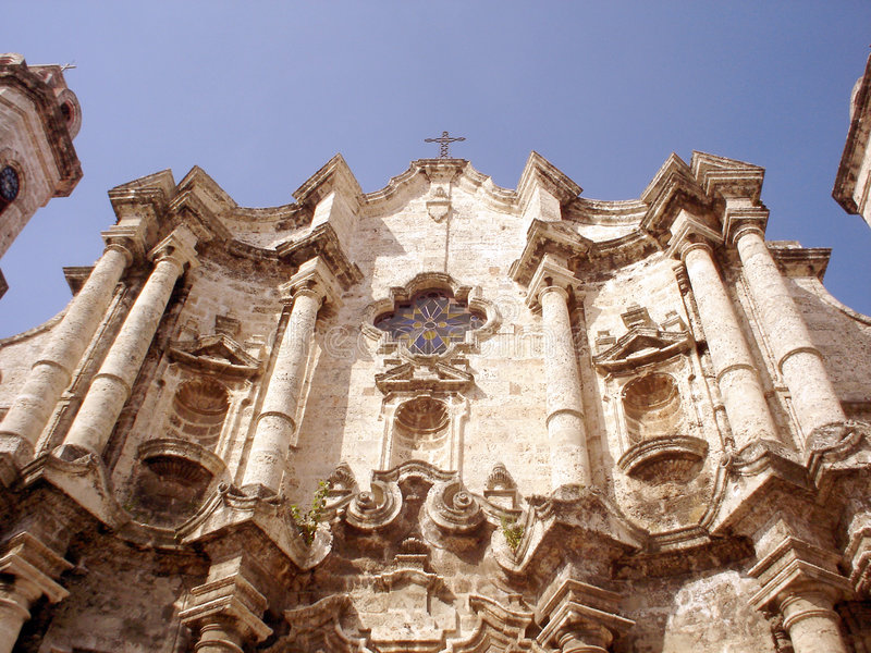 καθεδρικός ναός Αβάνα στοκ φωτογραφίες