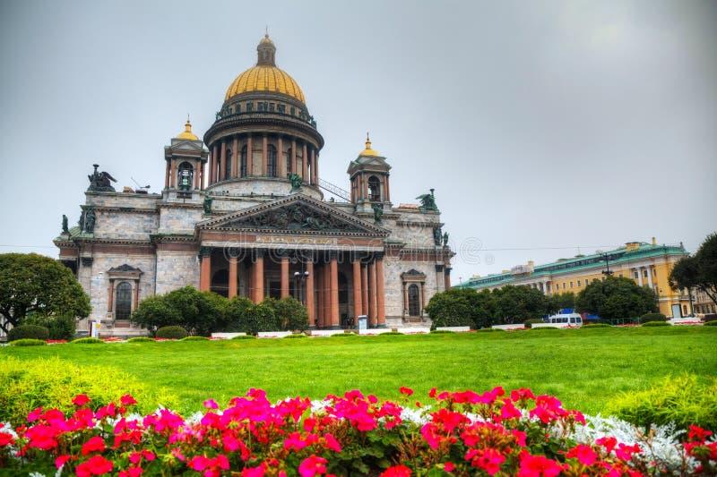 Καθεδρικός ναός Αγίου Isaac σε Άγιο Πετρούπολη στοκ φωτογραφία με δικαίωμα ελεύθερης χρήσης