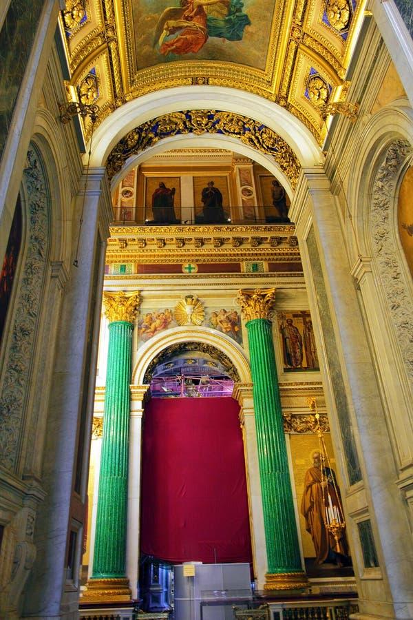 Καθεδρικός ναός Αγίου Isaac στην Αγία Πετρούπολη στοκ εικόνα με δικαίωμα ελεύθερης χρήσης