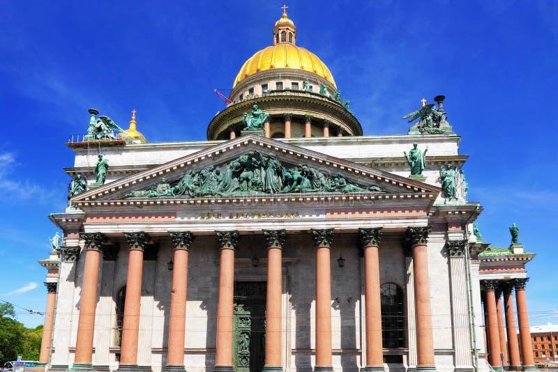 Καθεδρικός ναός Αγίου Isaac στη Αγία Πετρούπολη, Ρωσία στοκ εικόνες