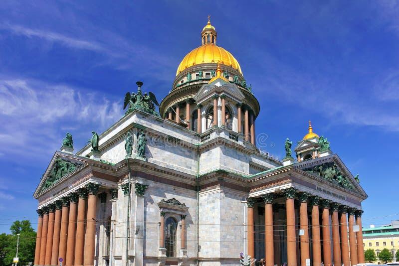 Καθεδρικός ναός Αγίου Isaac στη Αγία Πετρούπολη, Ρωσία στοκ εικόνα με δικαίωμα ελεύθερης χρήσης