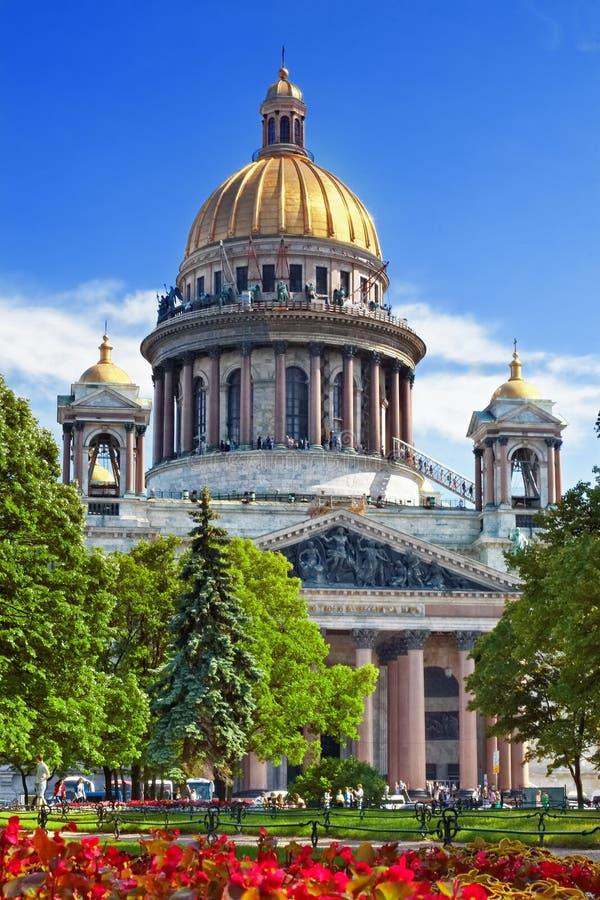 Καθεδρικός ναός Αγίου Isaacs στην Αγία Πετρούπολη στοκ φωτογραφία με δικαίωμα ελεύθερης χρήσης