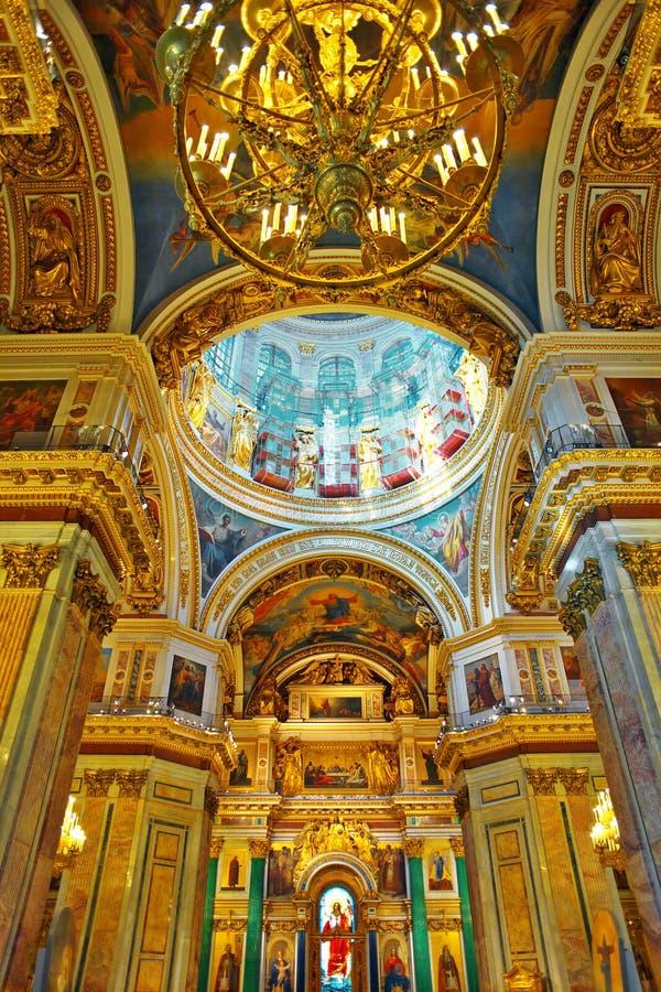Καθεδρικός ναός Αγίου Isaacs στην Αγία Πετρούπολη στοκ φωτογραφίες με δικαίωμα ελεύθερης χρήσης