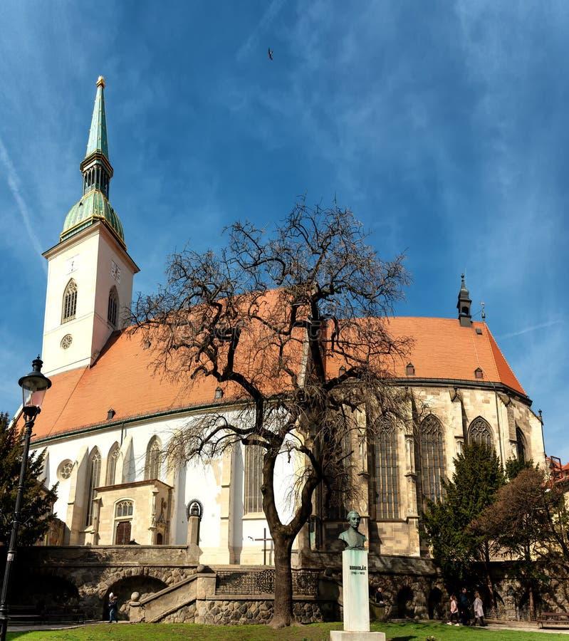 Καθεδρικός ναός Αγίου Martin, Μπρατισλάβα στοκ εικόνες με δικαίωμα ελεύθερης χρήσης
