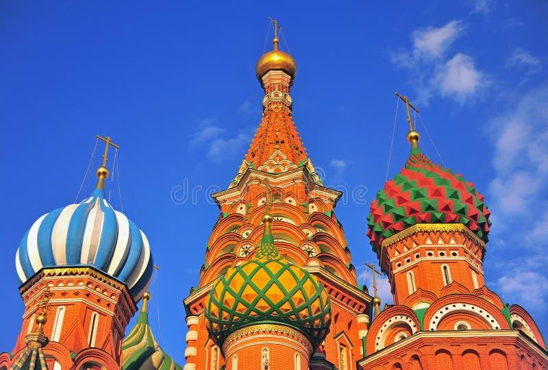 Καθεδρικός ναός βασιλικού Αγίου στο κόκκινο τετράγωνο, Μόσχα, Ρωσία στοκ φωτογραφία με δικαίωμα ελεύθερης χρήσης
