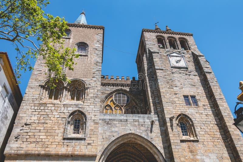 Καθεδρικός ναός βασιλικών η κυρία μας της υπόθεσης της Evora στοκ εικόνες με δικαίωμα ελεύθερης χρήσης