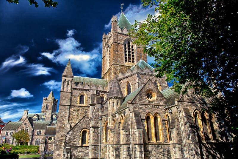 Καθεδρικός ναός Δουβλίνο εκκλησιών Χριστού στοκ φωτογραφία με δικαίωμα ελεύθερης χρήσης
